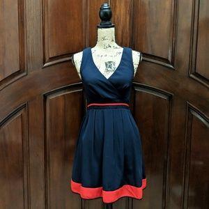 6e9316639a4 Sunny Girl. Modcloth Shoreline Simplicity Blue V-neck Dress